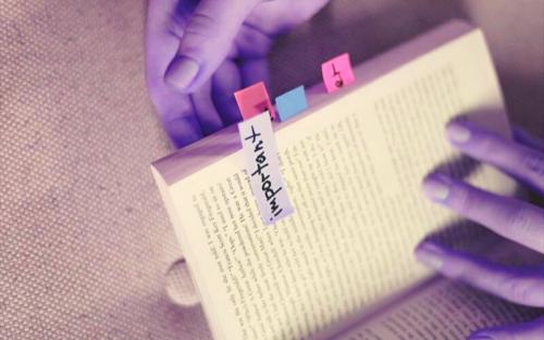 下読みが終わったら、最初から本読み